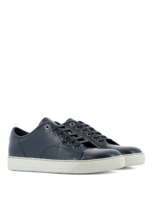 Lanvin: trainers online - DBB1 low top leather sneakers