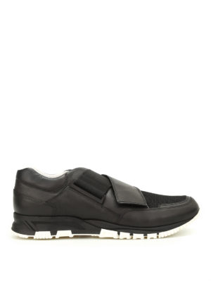 Lanvin: trainers - Strap running shoes