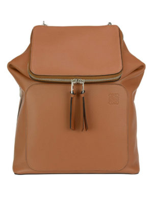 Loewe: backpacks - Goya leather backpack