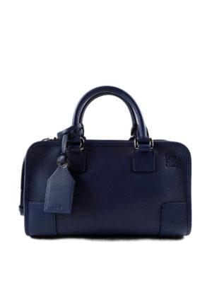 Loewe: bowling bags - Amazona 28 leather bag