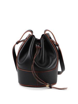 LOEWE: Bucket bags - Balloon small bucket bag