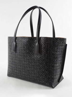 Loewe: totes bags online - T embossed leather tote