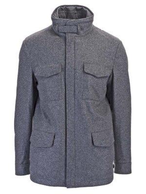Loro Piana: casual jackets - Traveler cashmere jacket in grey