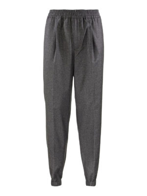 Loro Piana: casual trousers - Cashmere wool blend trousers