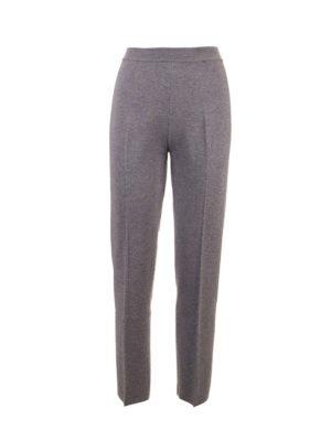Loro Piana: casual trousers - Fifth Avenue pants in grey