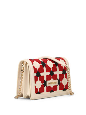 Love Moschino: clutches online - Checked heart clutch