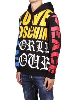 LOVE MOSCHINO: Felpe e maglie online - Felpa stampata in cotone