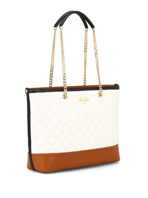 LOVE MOSCHINO: shopper online - Shopper in similpelle trapuntata