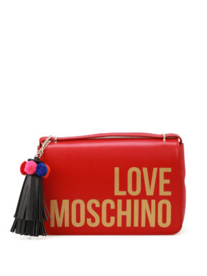 Love Moschino: shoulder bags - Fake leather logo bag
