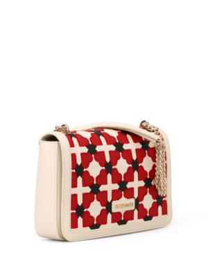Love Moschino: shoulder bags online - Checked heart shoulder bag
