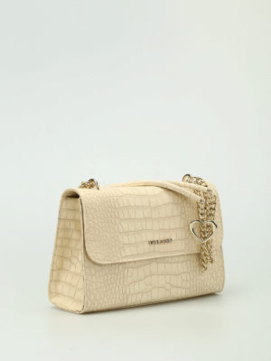 Love Moschino: shoulder bags online - Croco print faux leather bag