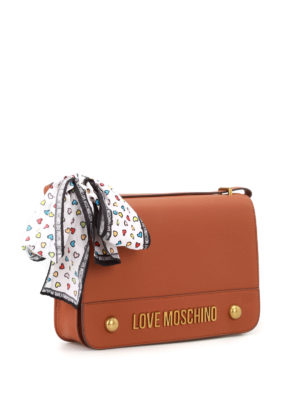 Love Moschino: shoulder bags online - Fake leather bow detailed bag