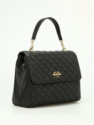 Love Moschino: shoulder bags online - Quilted nappa bag