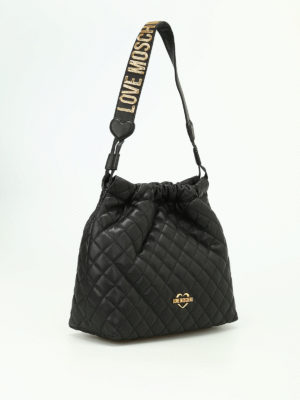 Love Moschino: shoulder bags online - Quilted nappa shoulder bag