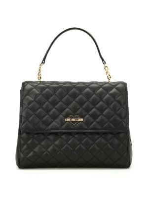 Love Moschino: shoulder bags - Quilted nappa bag
