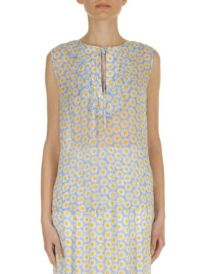 Love Moschino: Tops & Tank tops online - Daisy print viscose tank top