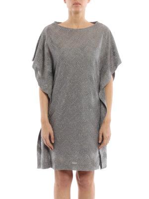 M Missoni: cocktail dresses online - Chevron pattern jersey tunic dress
