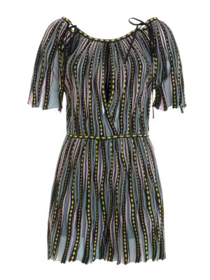 M Missoni: jumpsuits - Viscose blend short jumpsuit