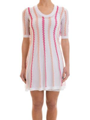 M Missoni: short dresses online - Flared crewneck dress