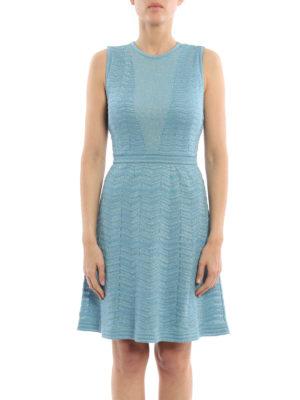 M Missoni: short dresses online - Shimmering knitted dress