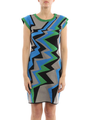 M Missoni: short dresses online - Sleeveless stretch jersey dress