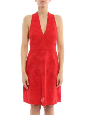 M Missoni: short dresses online - V neck jersey dress
