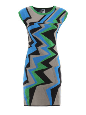 M Missoni: short dresses - Sleeveless stretch jersey dress