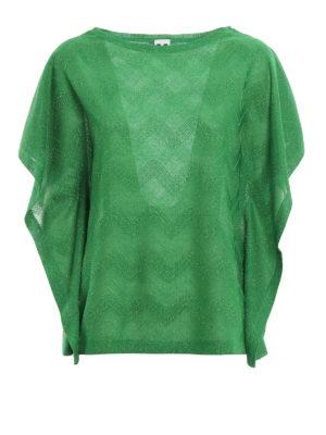 M Missoni: t-shirts - Chevron patterned jersey Tee