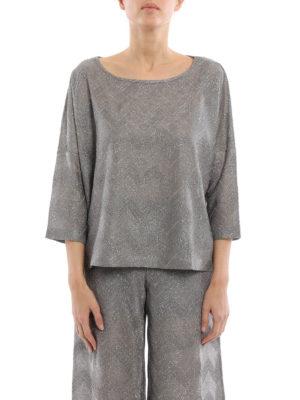 M Missoni: t-shirts online - Chevron patterned jersey T-shirt