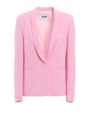 M.S.G.M.: blazers - Shawl lapel blazer