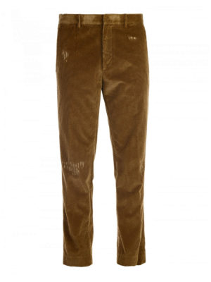 M.S.G.M.: casual trousers - Corduroy trousers