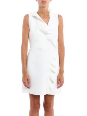 M.S.G.M.: cocktail dresses online - Short dress with riffles