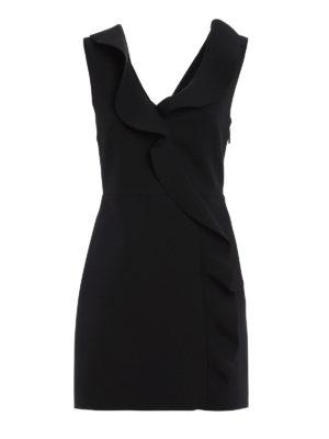 M.S.G.M.: cocktail dresses - Short dress with riffles
