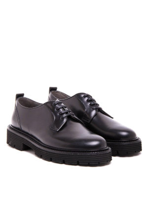 M.S.G.M.: lace-ups shoes online - Polish leather Derby shoes