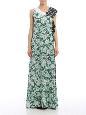 M.S.G.M.: maxi dresses online - Ruffled maxi dress