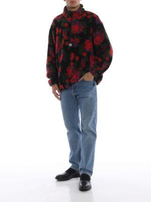 a sigaretta - Jeans in denim con vestibilità boyfriend