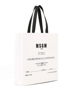 m.s.g.m.: shopper online - Shopper Colors speak all languages