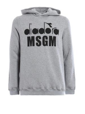 M.S.G.M.: Sweatshirts & Sweaters - Diadora MSGM hoodie