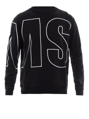 M.S.G.M.: Sweatshirts & Sweaters - Maxi logo sweatshirt