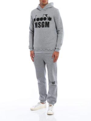 M.S.G.M.: Sweatshirts & Sweaters online - Diadora MSGM hoodie