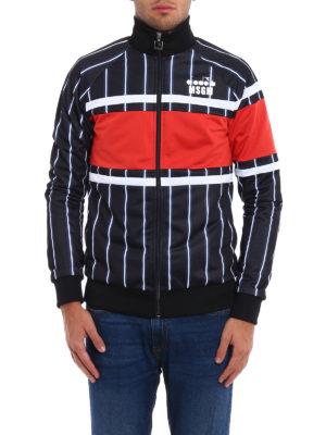 M.S.G.M.: Sweatshirts & Sweaters online - Diadora MSGM zipped sweatshirt
