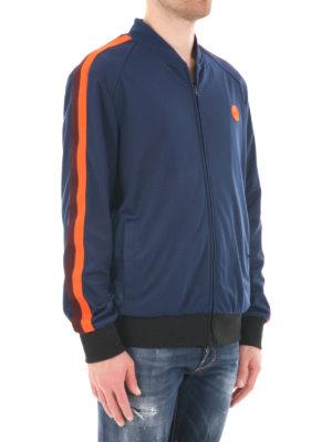 M.S.G.M.: Sweatshirts & Sweaters online - Sleeve bands detail sweatshirt