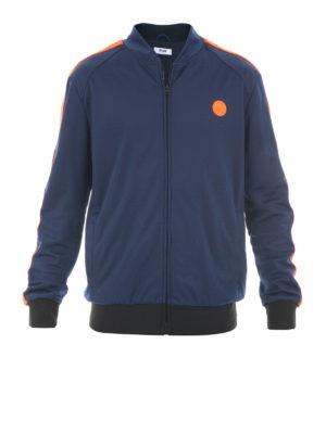M.S.G.M.: Sweatshirts & Sweaters - Sleeve bands detail sweatshirt