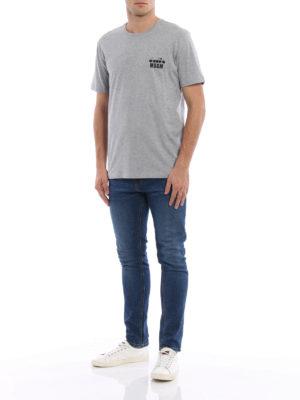 M.S.G.M.: t-shirts online - Diadora MSGM cotton Tee