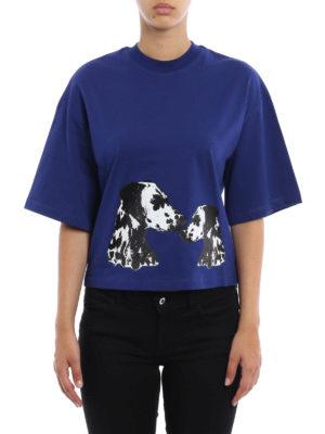 M.S.G.M.: t-shirts online - Printed cotton T-shirt