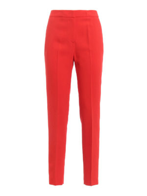M.S.G.M.: Tailored & Formal trousers - Crepe trousers