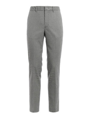 M.S.G.M.: Tailored & Formal trousers - Houndstooth formal trousers