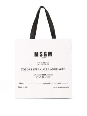 m.s.g.m.: shopper - Shopper Colors speak all languages