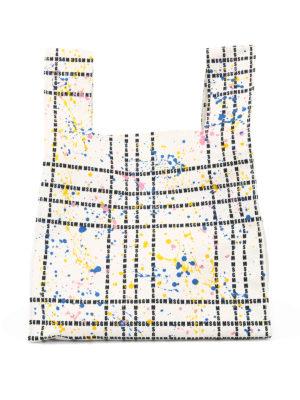 m.s.g.m.: shopper - Shopper con macchie di vernice