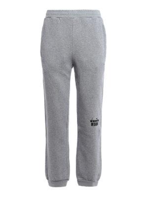 M.S.G.M.: tracksuit bottoms - Diadora MSGM trousers